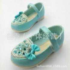 Giày búp bê bé gái kiểu dáng công chúa ngọt ngào, màu sắc dịu dàng