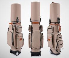 Túi Đựng Trọn Bộ Đồ Chơi Golf Chống Nước, Có Bánh Lăn PGM QB038