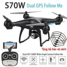 Flycam SJRC S70W new 2018 – Camera 1080P, GPS, Tự đi theo chủ, Camera điều chỉnh góc 90 độ