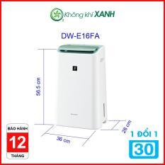 Máy lọc không khí và hút ẩm Sharp DW-E16FA-W