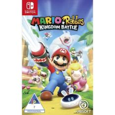 Đĩa game Nintendo Switch: Mario + Rabbids Kingdom Battle