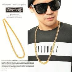 Dây chuyền inox Mạ Vàng giống thật Hàn Quốc – trang sức thời trang .
