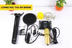 (Khuyến Mãi Tai nghe)Bộ thu âm,Livetream BM900-K10 Full phụ kiện Tai nghe JBL
