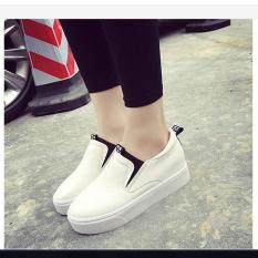 FL001T- Giày slip on đế độn nữ