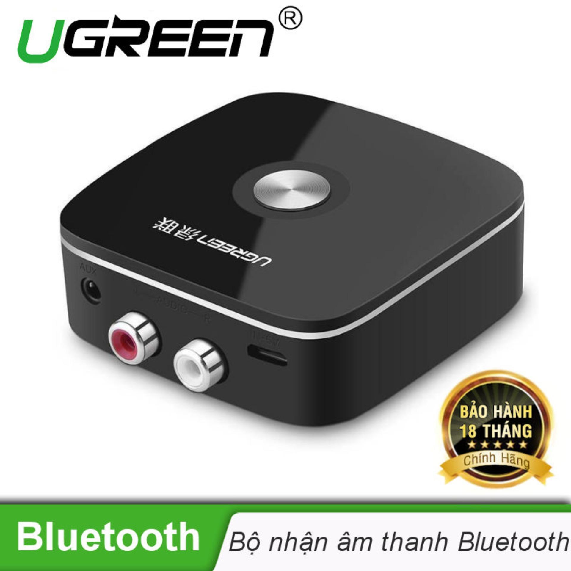 Mua Bộ nhận âm thanh Bluetooth đầu ra 3,5mm + 2 đầu RCA UGREEN 30445 – Hãng phân phối chính thức ở đâu tốt?