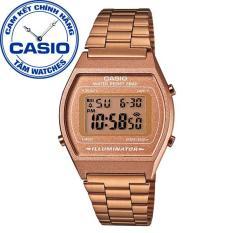 Đồng hồ nữ dây thép không gỉ Casio Standard Anh Khuê B640WC-5ADF