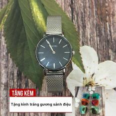 [RẺ ĐỪNG HỎI] Đồng hồ nữ GUOU 2 kim chạy dây thép nhuyễn sang trọng G43-51 – TẶNG NGAY KÍNH TRÁNG GƯƠNG
