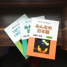 Sách – Combo 3 cuốn mina no nihongo T1 SGK + bản dịch + tập viết