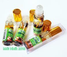 06 Dầu Sâm Ginseng Green Herb Oil Thái Lan (nhập khẩu) – 6chai x 8ml