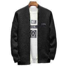 Áo khoác Cardigan len nam New01 phong cách Hàn Quốc nhập khẩu