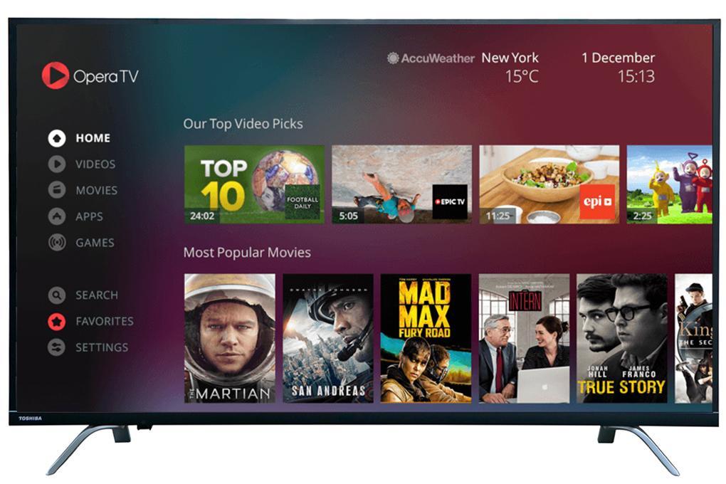 Smart Tivi Toshiba 4K 49 inch 49U7650
