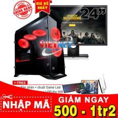 Máy tính core i5 4460 card GTX-1050Ti RAM 16GB 1TB LCD Del 24 inch (chính hiệu VietNet)