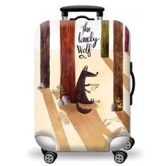 Túi bọc bảo vệ vali -Áo vỏ bọc vali – Size L-SÓI HPValiOEM