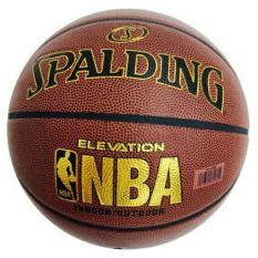 Bóng rổ số 7 Spalding NBA da PU đạt tiêu chuẩn thi đấu tặng kim bơm