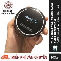 Than Hoạt Tính Trắng Răng SMILE UP – 100gr ( SMU03)