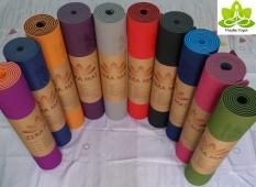 Thảm yoga ZERA MAT (6mm 2 lớp) êm ái, độ đàn hồi và độ bám cực cao
