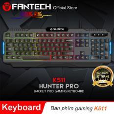 Bàn phím Gaming LED Backlit HUNTER PRO – K511 – Hãng Phân Phối Chính Thức