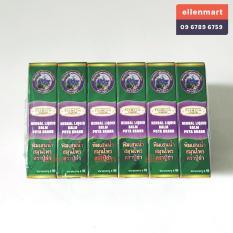 3 Chai Dầu lăn 19 loại thảo dược Thái Lan 8cc