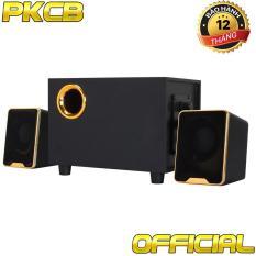 Loa Nghe Nhạc Thùng gỗ, Viền vàng đồng Mã PKCB-29 Cao cấp