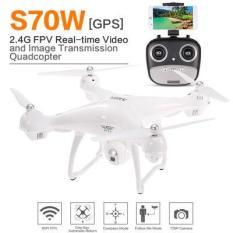 Flycam S70W 2GPS 1080P Cao Cấp Camera WIFI FPV Xoay 90 độ,Tự Động Quay Về Phiên Bản New 2018 full HD 1080P Cực Ngon
