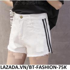 Quần Sọt Đùi (Short) Kaki Lưng Cao Thời Trang Hàn Quốc – BT Fashion SO002