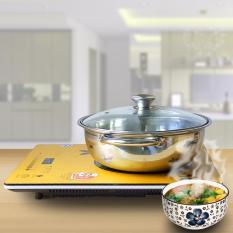 Bếp điện từ siêu mỏng Tiết kiệm điện Hayasa Ha-790 Slim (không tặng kèm lẩu)(Cam) – Hãng phân phối chính thức