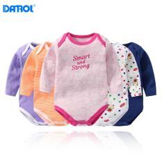 Combo 5 bộ bodysuit cho bé DANROL DR0015