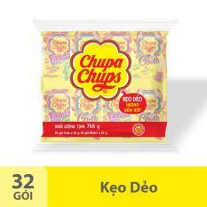 Kẹo Dẻo Chupa Chups Hương Trái Cây Hỗn Hợp (Gói 32 gói 24g)