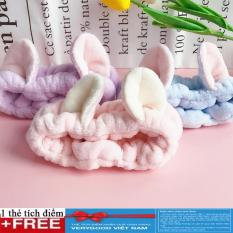 Băng đô vai nhung 3D tai mèo cực cute + tặng kèm thẻ tích điểm Verygood