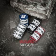 BĂNG QUẤN TAY TWINS BOXING 4M5 CO DÃN ( ĐEN )