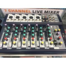 Mixer thu âm F7 USB Pro 2018