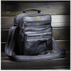 Túi đeo ngực đựng tiền cho ông chủ da thật Đồ Da Thành Long TLG 208138