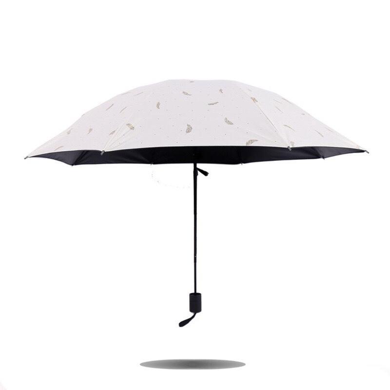 Dù che mưa nắng đặc biệt 3 lớp cao cấp chống tia UV, cản nhiệt (Kiểu Bướm đêm)