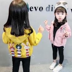 Áo gió 2 lớp xinh xắn cho bé gái từ 1-5 tuổi