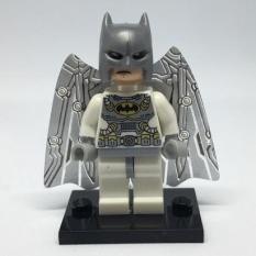 Lego minifigures batman trắng 2 đầu 2018