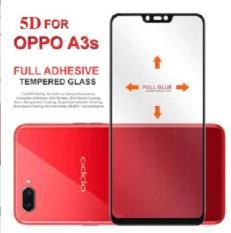 Kính cường lực 5D Full Keo,Full màn dành cho oppo A3s