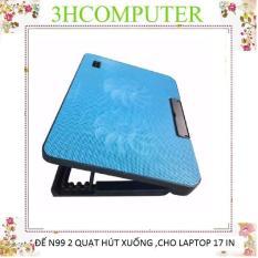 Đế tản nhiệt Laptop N99 – đế nâng lên -cho laptop 17 in