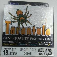 Cước câu cá con nhện TARANTULA 100m ( cần câu 24h )