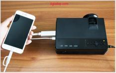 Máy chiếu Projector Mini Canzzi X1 (Loại Độ nét chuẩn) Tiện Giải trí – Làm việc (Nhỏ gọn)