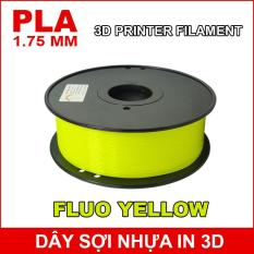 Dây sợi nhựa PLA in 3D 1.75mm 1Kg Fluo Yellow