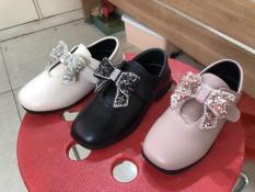 [SenXanh] Giày nơ nhũ siêu mềm cho bé gái