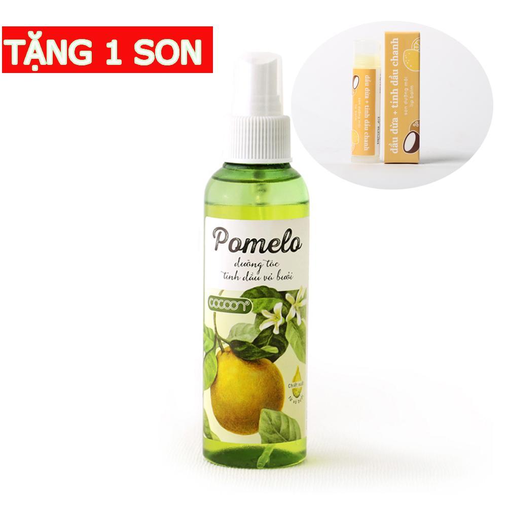 Pomelo tinh dầu bưởi mọc tóc tặng 1 son dưỡng môi Lip Balm
