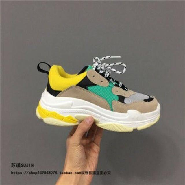 Giày sneaker balencia trips s hàng quảng châu full Box