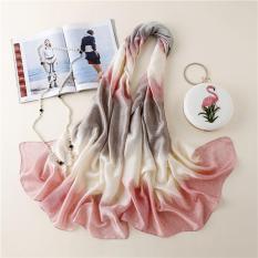 Khăn choàng lụa thời trang cao cấp HLS01 – size 90cm X 180cm