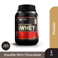 Thực phẩm bổ sung Optimum NutritionGold Standard 100% Whey Double Rich Chocolate2 lbs
