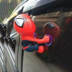 Đồ chơi trang trí xe Người Nhện spider man Gắn Vào Đuôi Xe Máy, Kính Ô tô, biển số xe, vô lăng, bàn học…..