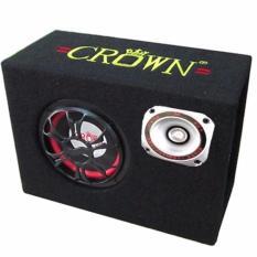Loa Crown Số 10 vuông nghe nhạc USB, thẻ nhớ