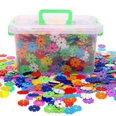 Đồ chơi lắp ghép thông minh 400 cái hình hoa sáng tạo cho bé