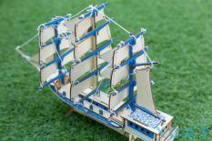 Đồ chơi lắp ghép gỗ – Mô Hình Lắp Ghép Thuyền Buồm Châu Âu