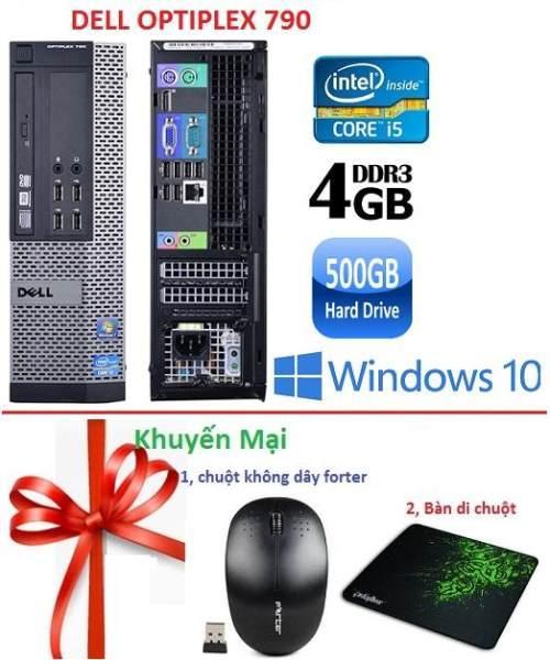 Thùng Dell optiplex 790 ( Core i5 / 4GB/ 500GB ) - Tặng USB Wifi , Bàn di chuột -...
